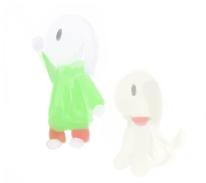 Quick Hajime and Koron by Feldherren