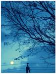 Moon by Miandre
