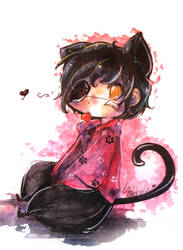 Chibi Cat Eyes Pa sanagi :3 by Lancoise