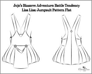Lisa Lisa: Pattern Flat (JJBA: Battle Tendency)