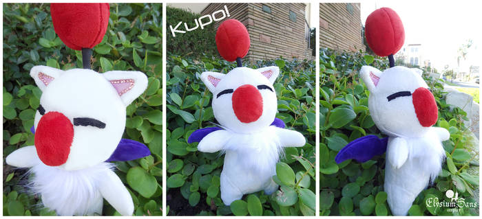 KUPO, a moogle appears!