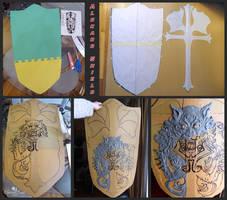 Alucard's Shield: WIP, Pattern and Sculpt