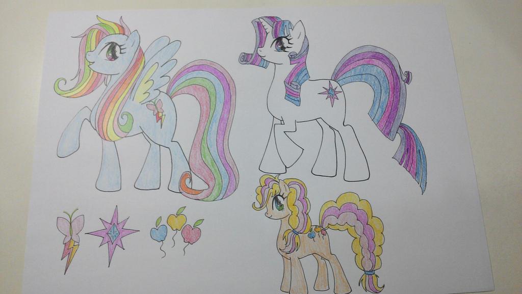 Pony Fusion by TantyoNishikigoi