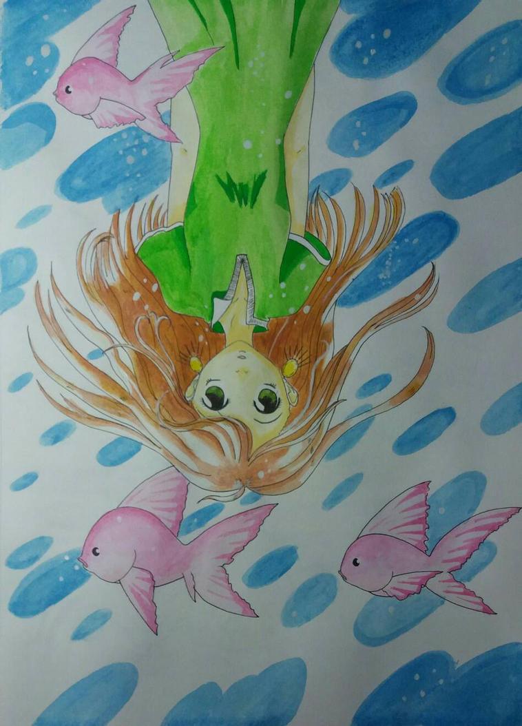 A fishy situation. by TantyoNishikigoi