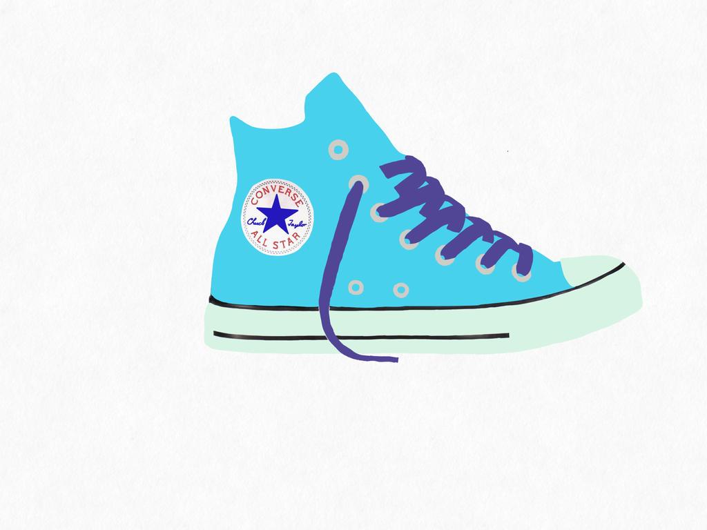 pop art converse shoe by girlstache on deviantart
