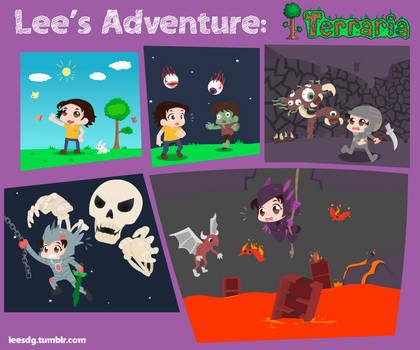 Lee's Adventure: Terraria