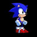 Oldschool Sonic Sprite, Take II by Logic-Monkey