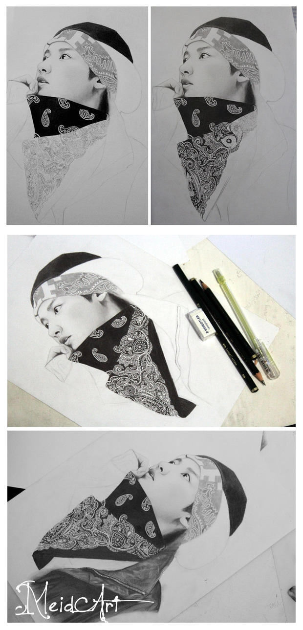 chanyeol exo (WIP) by meidamelina