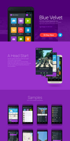 Blue Velvet - UI Kit for Android based phones