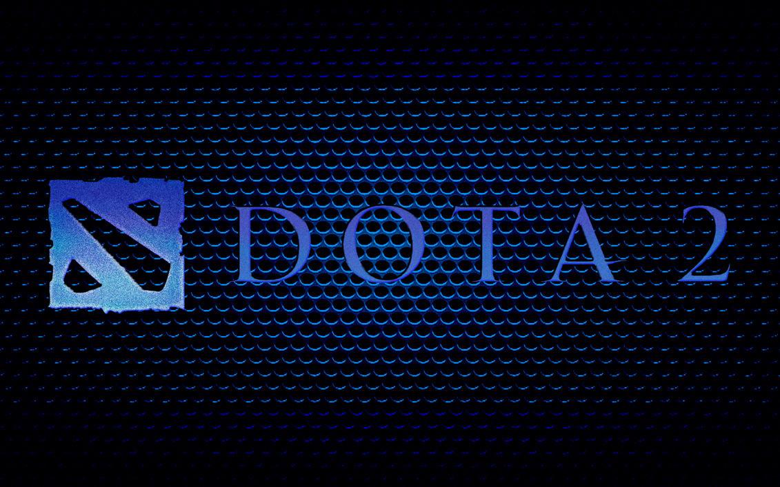 Dota 2 backgorund in blue tones by Neonex1k on DeviantArt