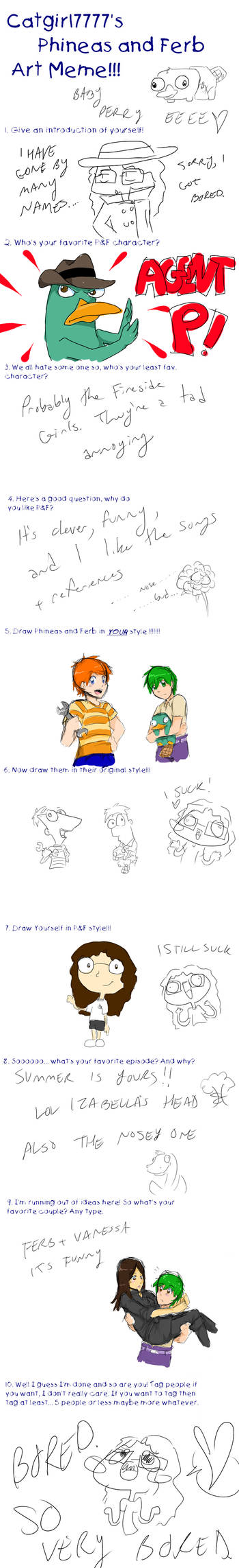Phineas And Ferb Meme By Notbecca On Deviantart