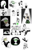 Danny Phantom Art Dump by notbecca