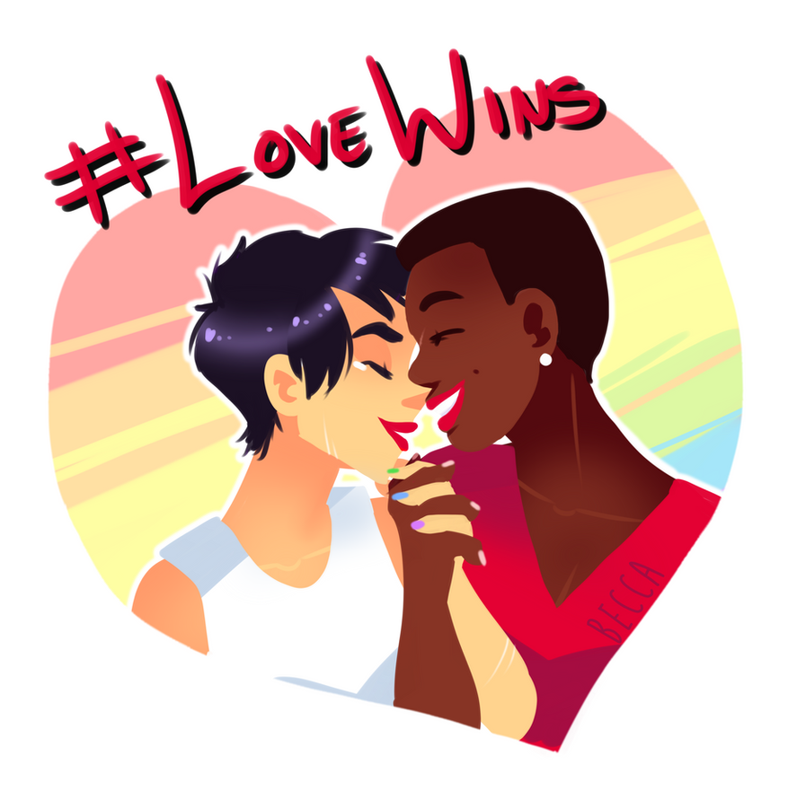 #lovewins by PhandomMom