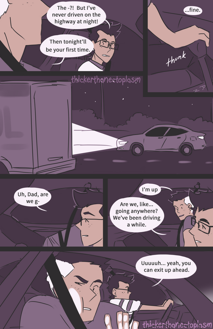 Driving Lessons [2/5] by notbecca