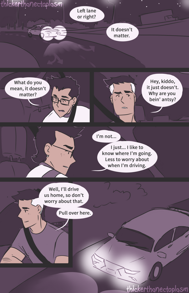 Driving Lessons [3/5] by notbecca