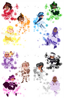 rainbow children
