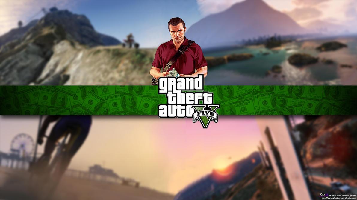 Gta V Grand Theft Auto Michael Wallpaper By BryanBarnard