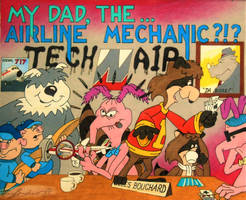 My Dad...The Airline Mechanic?!?