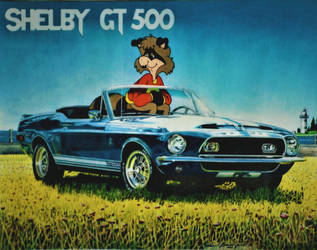 Shelby GT 500 by HouseOfUsher11