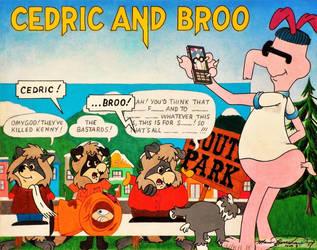 Cedric And Broo by HouseOfUsher11