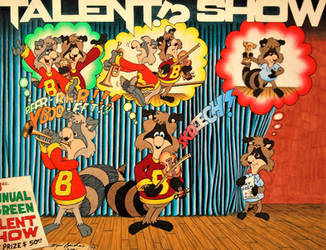 Talent!? Show by HouseOfUsher11
