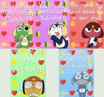 Keroro Valentines