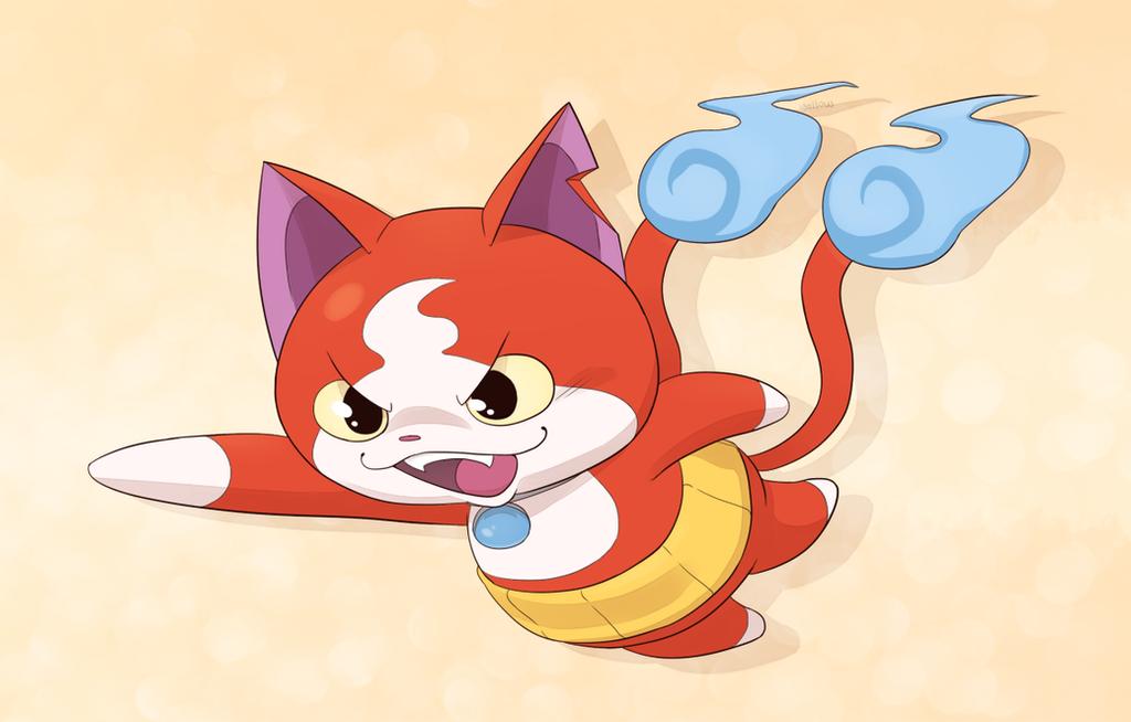 Cat From Yokai Anime