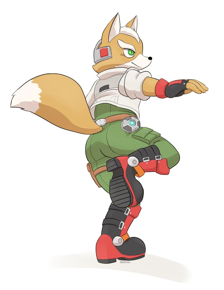 Fox Mccloud By Yellowhellion On Deviantart