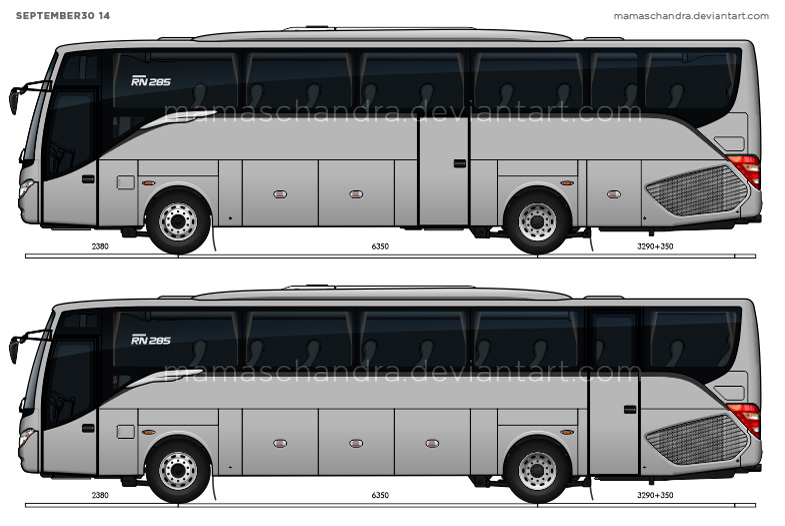 Wip Setra Comfort Class Indonesian Style By