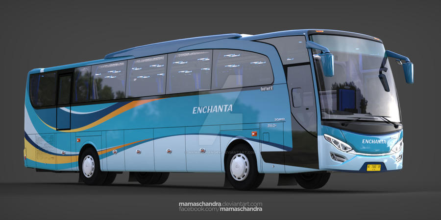 Another Different Livery For Jetbus By Mamaschandra On