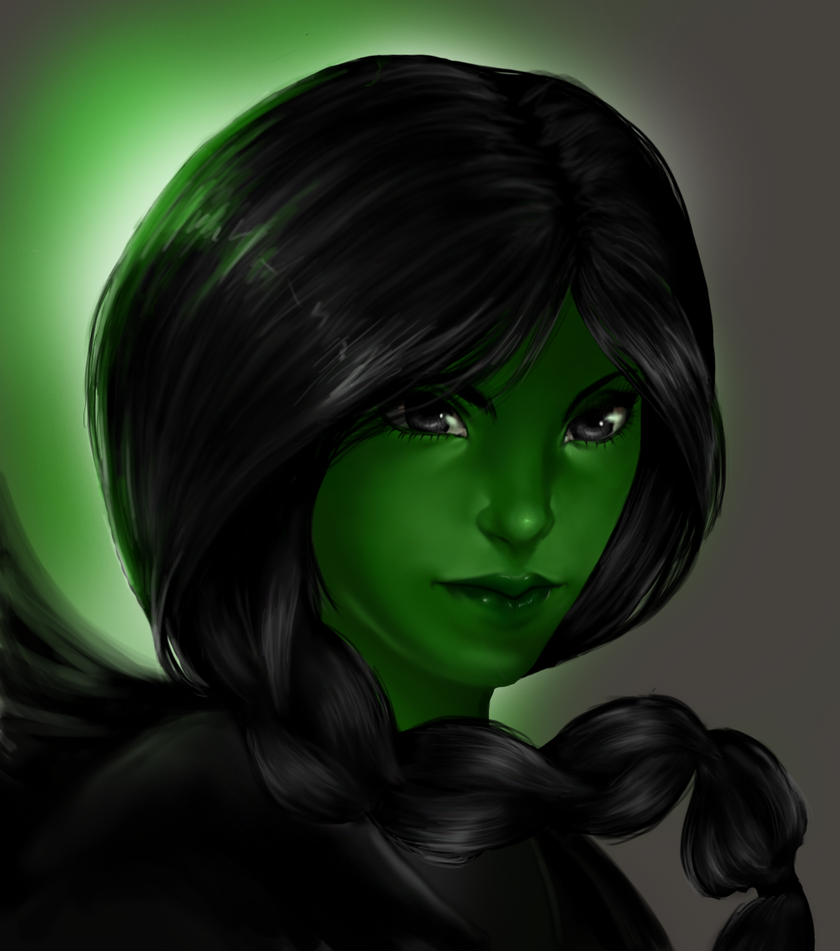 :Elphaba: Wicked: by punkaspazer