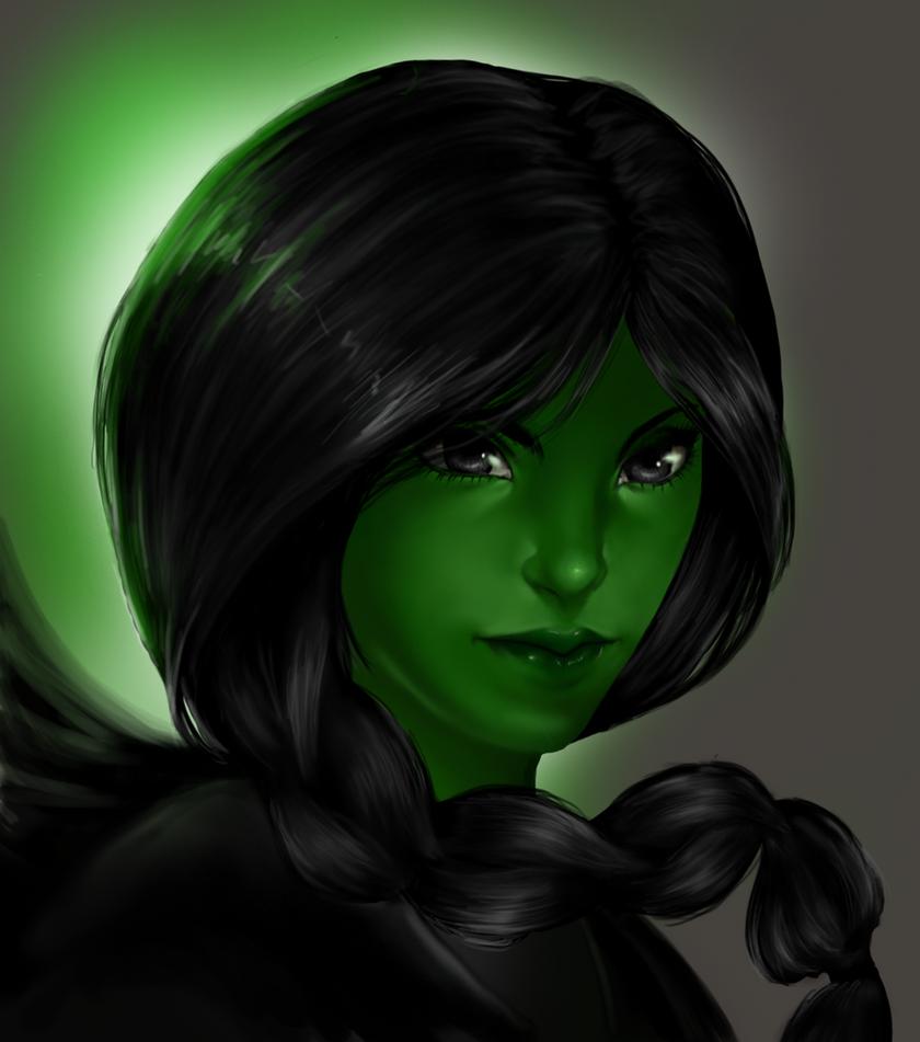 :Elphaba: Wicked: by punkaspazer