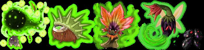 Nature Spirits v1 by fumeradraycarla