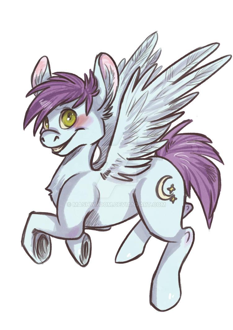 pony doodle by Mashwroom