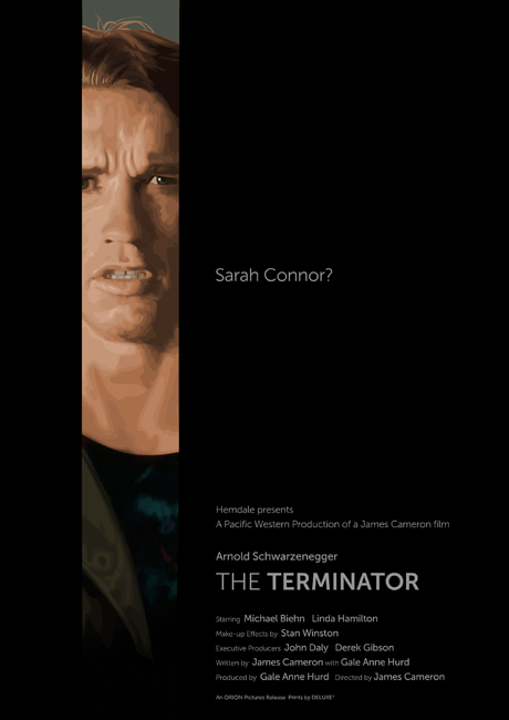 The Terminator poster by oldredjalopy