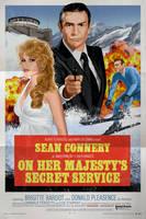 OHMSS Connery Poster by oldredjalopy