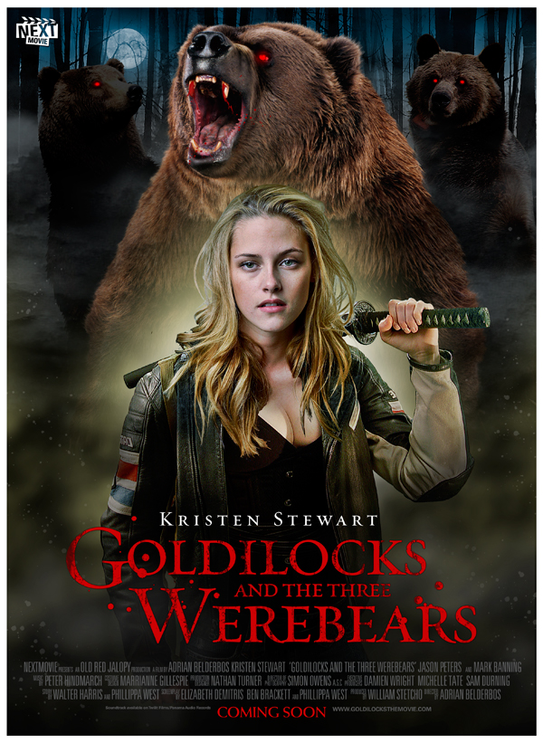 Goldilocks and the Three WereBears by oldredjalopy