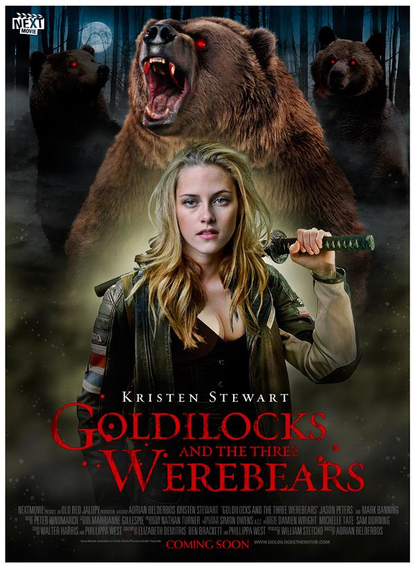 Goldilocks and the Three WereBears by oldredjalopy
