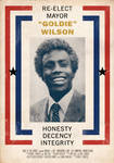 Goldie Wilson Election Poster
