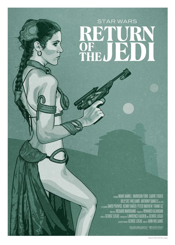 Return of the Jedi Poster by oldredjalopy