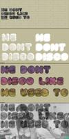 We Don't Disco