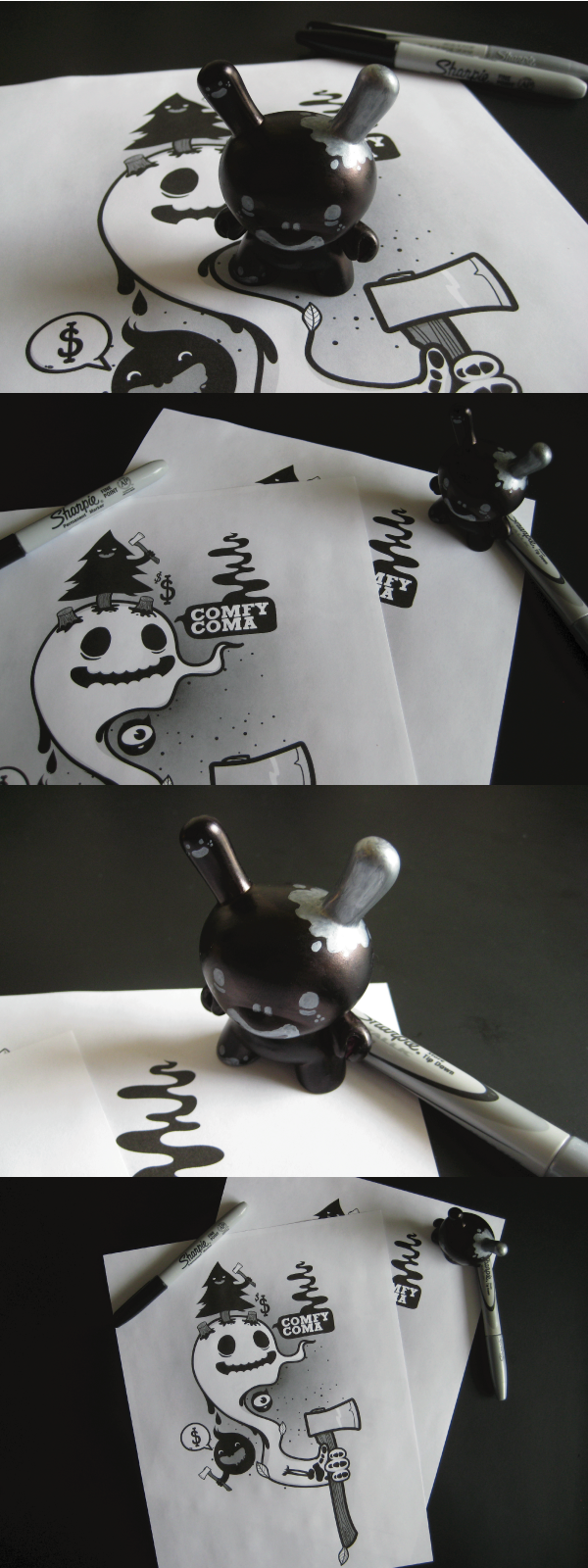 Sharpie Coma Dunny by j3concepts