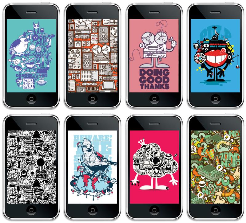 iPhone Walls Vol.1 by j3concepts