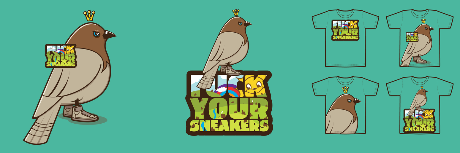 Fuck Your Sneakers by j3concepts