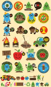 Sierra Magazine Stickers