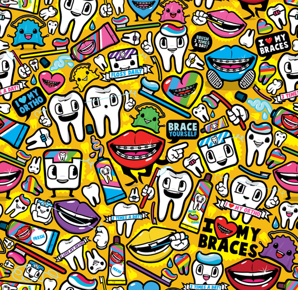 Orthodontist Pattern by j3concepts