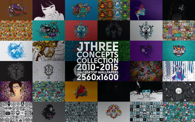Jthree Concepts Wallpaper Collection (2010-2015)
