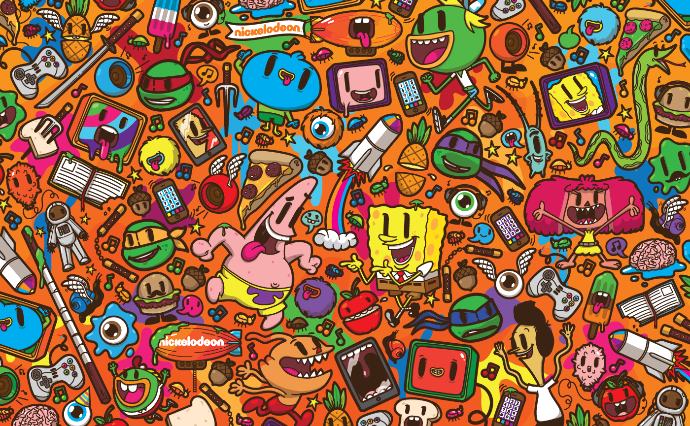 Nickelodeon Franchise Pattern By J3concepts On DeviantArt