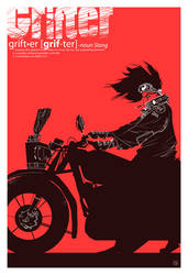 grifter poster by speedball0o