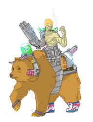 half-man-half-robot-half-bear
